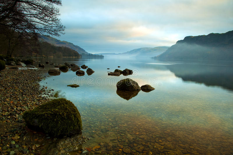 Lago Ullswater foto de archivo