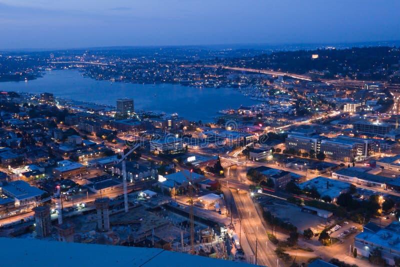 Lago union em Seattle foto de stock royalty free
