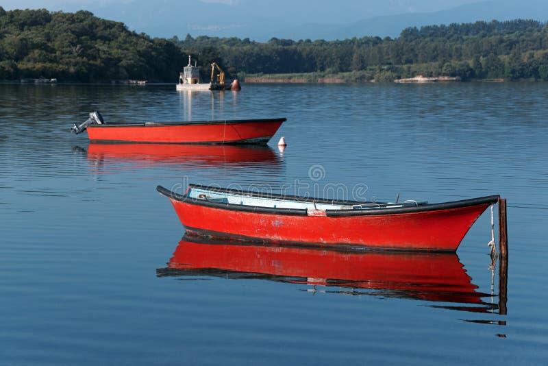 Lago Urbino fotos de stock royalty free