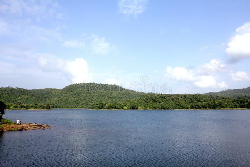 Lago Usgaon immagine stock