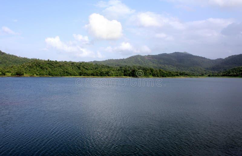 Lago Usgaon fotografia stock