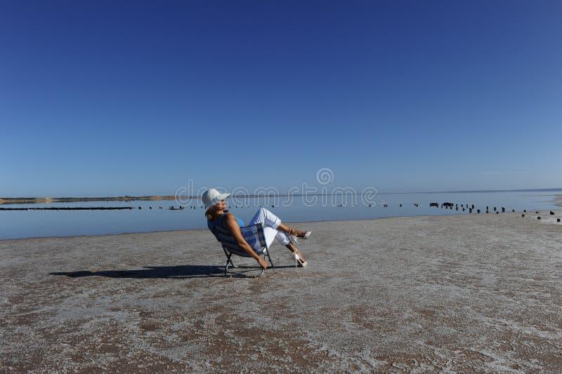 Lago vacation Outback fotografia stock libera da diritti