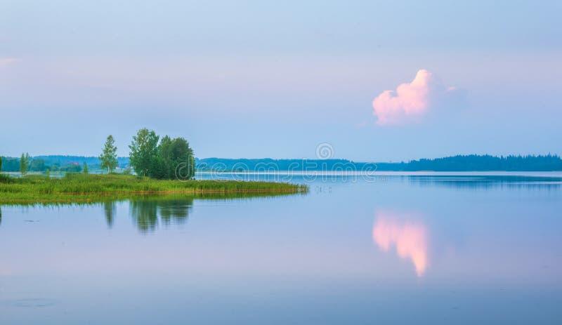 Lago Valdayskoye Rússia imagens de stock
