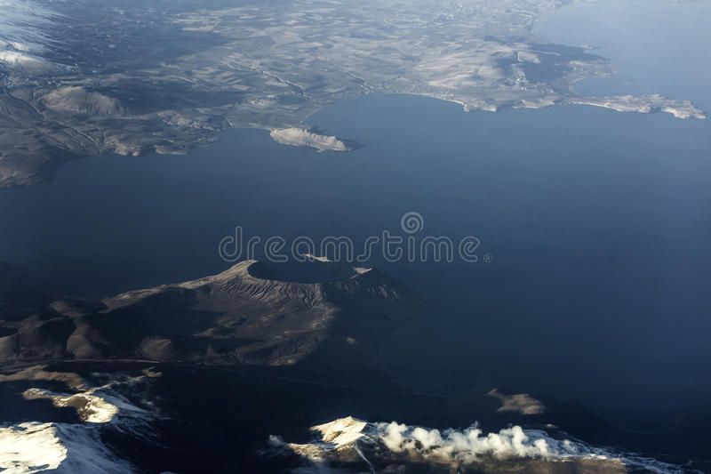 Lago Van Turkey immagini stock