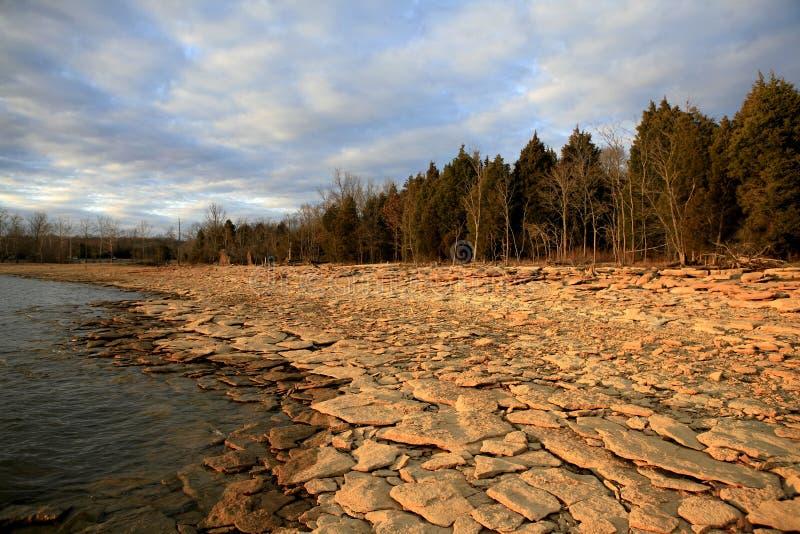 Lago velho Hckory fotografia de stock