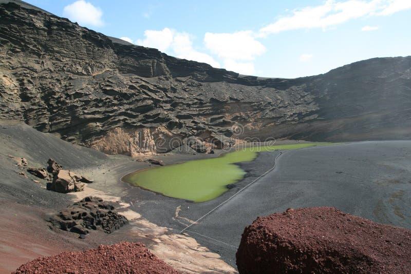 Lago verde fotografie stock libere da diritti