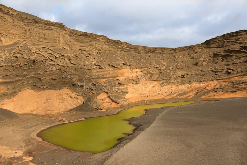 Lago verde fotografia stock libera da diritti