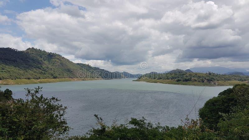 Lago victoria en Sri Lanka imagenes de archivo