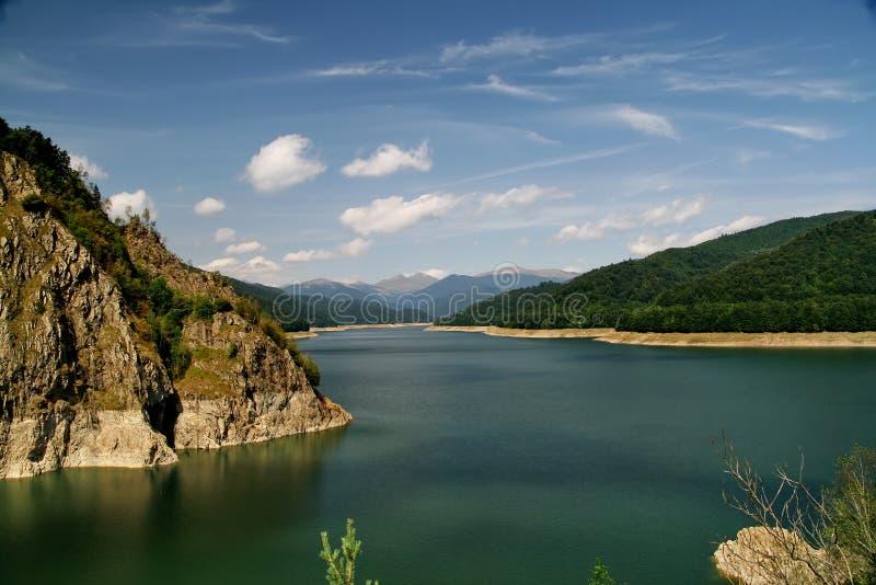 Lago Vidraru immagine stock libera da diritti