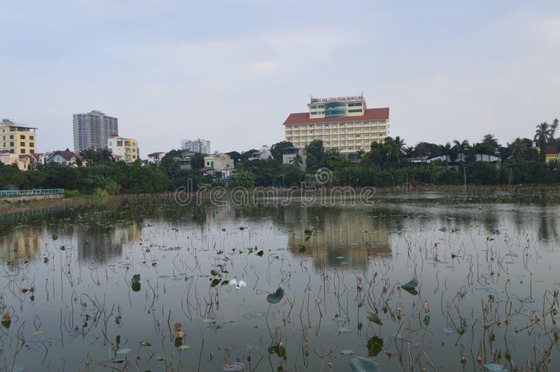 Lago vietnam fotografía de archivo