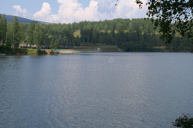 Lago 2015 Vlasina fotografía de archivo libre de regalías