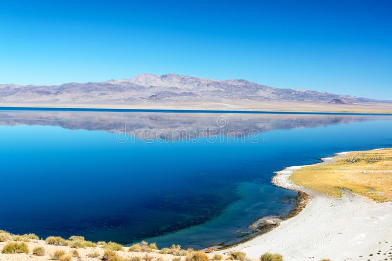 Lago walker em Nevada imagem de stock