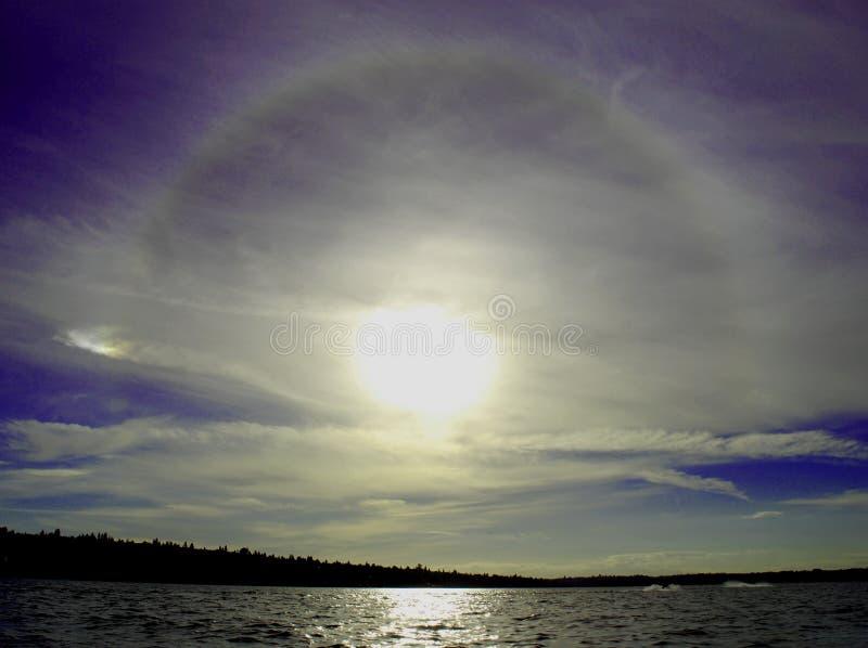 Lago Washington fotografie stock libere da diritti