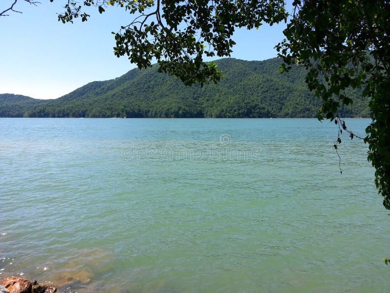Lago Watauga fotografia stock libera da diritti