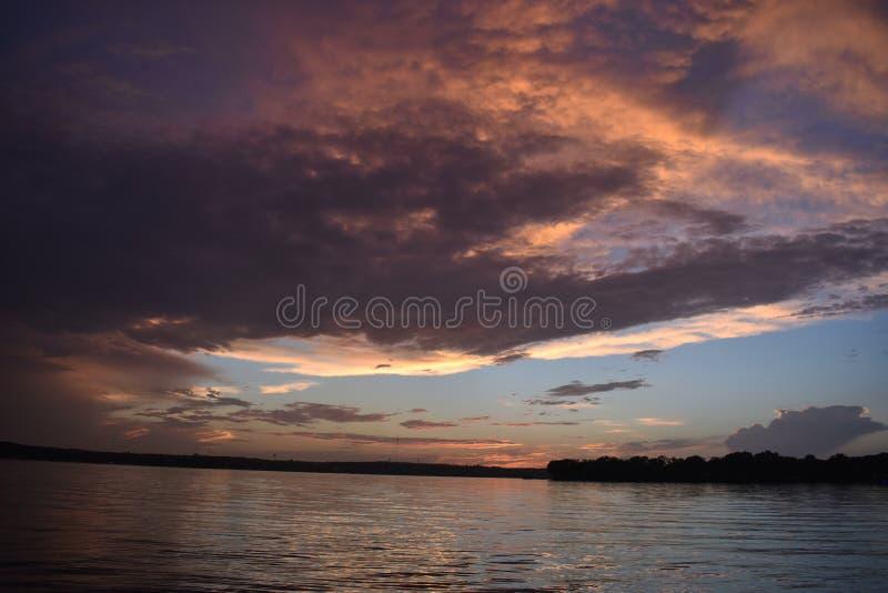 Lago Weatherford imagens de stock