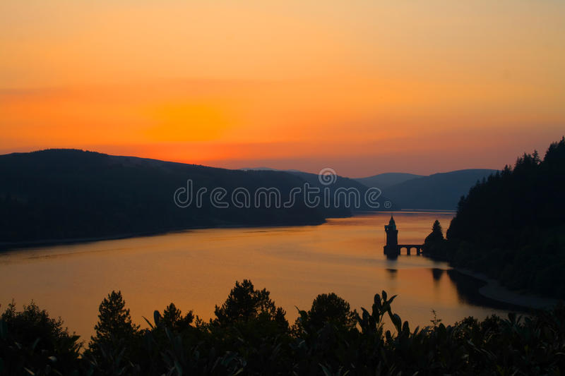 Lago welsh fotos de stock royalty free