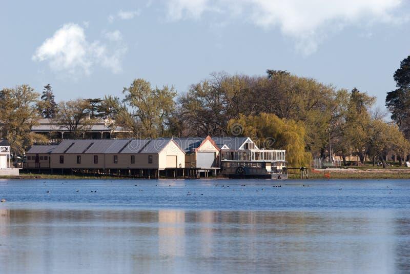Lago Wendouree, Australia fotos de archivo libres de regalías
