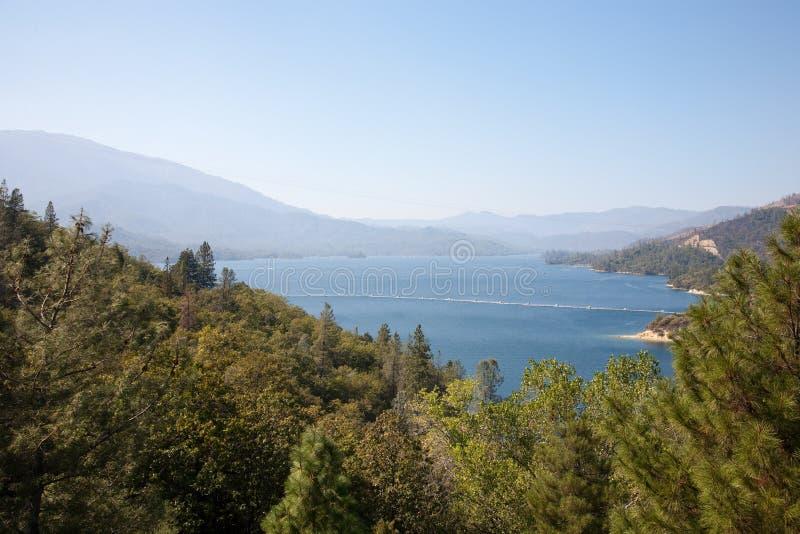 Lago Whiskeytown fotografia stock