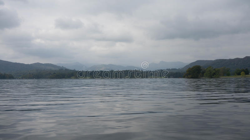 Lago Windemere em Cumbria imagem de stock royalty free