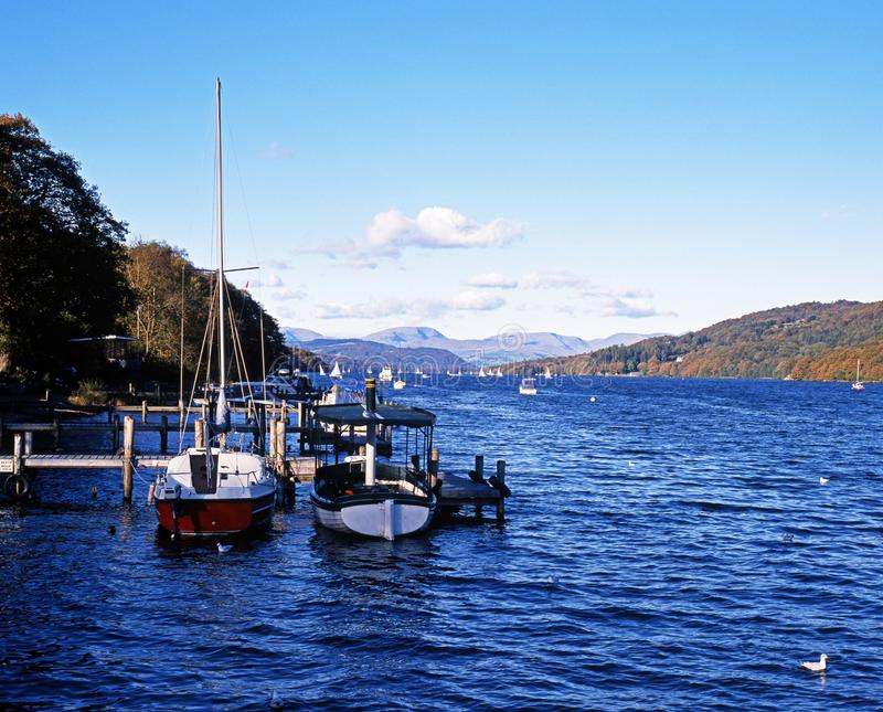 Lago Windermere, Cumbria. foto de archivo libre de regalías