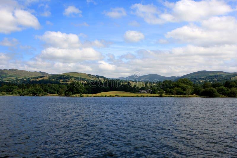 Lago Windermere, Cumbria, Inglaterra foto de stock royalty free