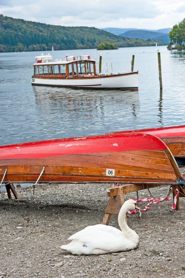 Lago Windermere, el Cumberland fotos de archivo