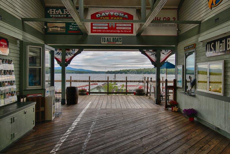 Lago Winnipesaukee fotografia stock libera da diritti