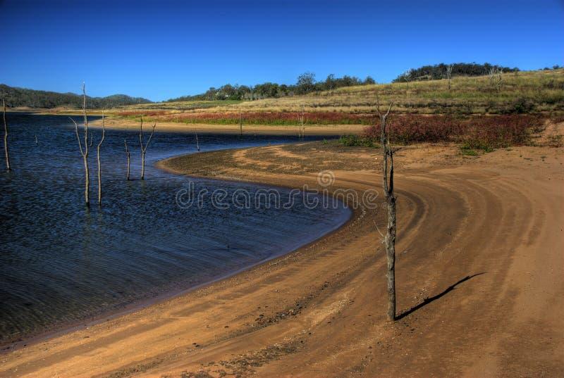 Lago Wivenhoe, Queensland, Aus fotografia de stock