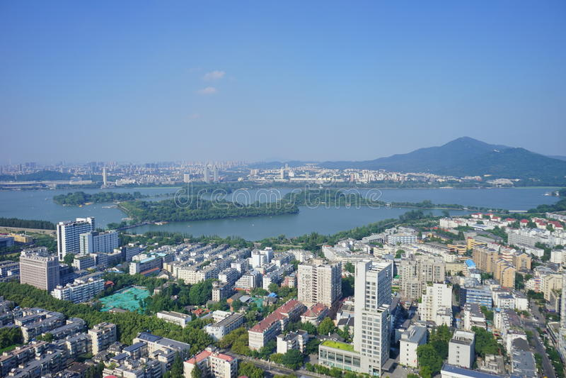 Lago Xuanwu imagen de archivo libre de regalías