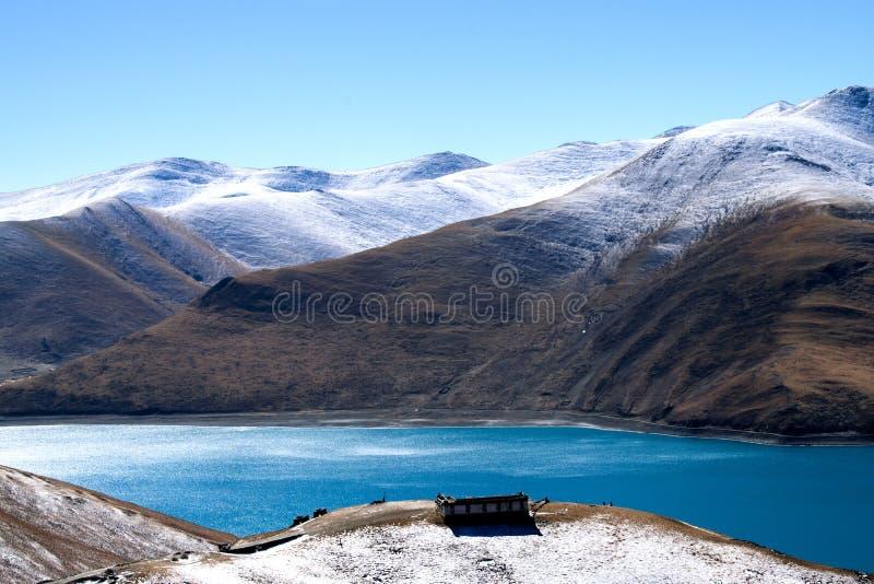 Lago Yamdork imagem de stock
