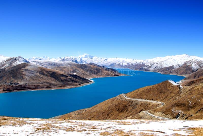 Lago Yamdork fotos de stock