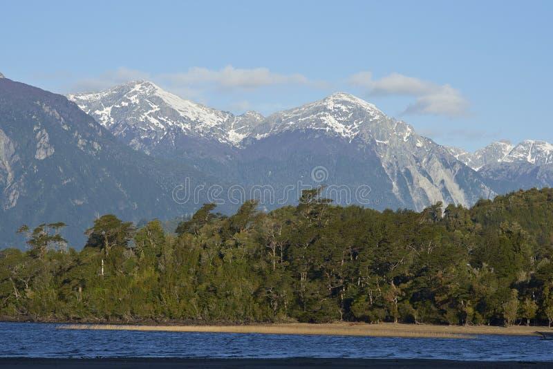 Lago Yelcho imagem de stock royalty free