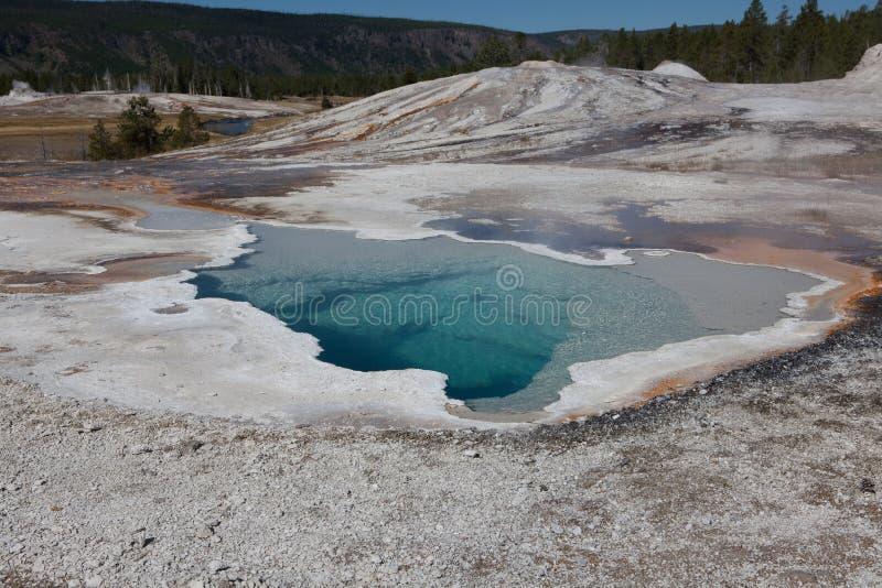 Lago Yellowstone fotografie stock libere da diritti