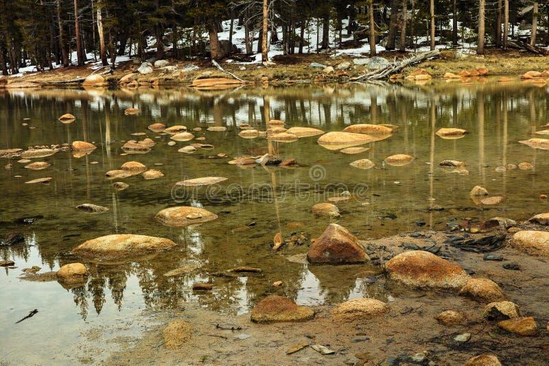 Lago Yosemite fotografía de archivo