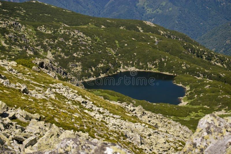 Lago Zanoaga foto de archivo libre de regalías
