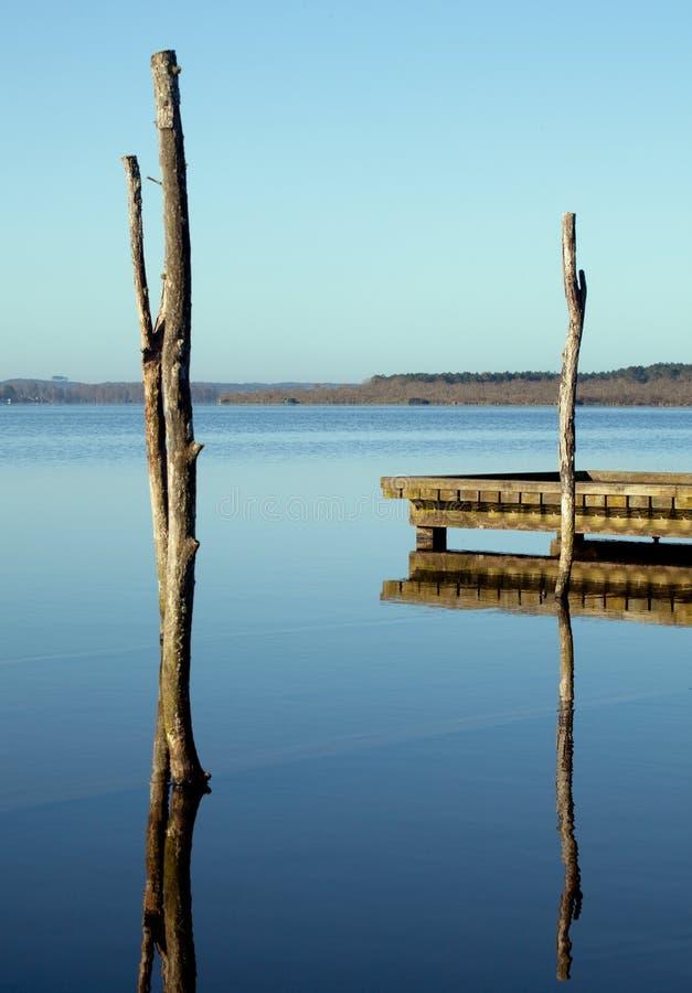 Lago zen fotografie stock