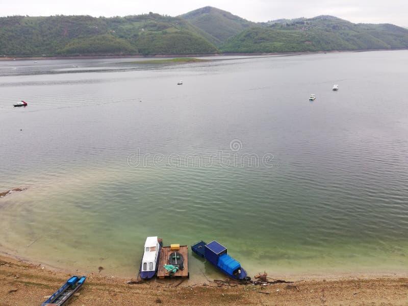 Lago Zlatar, S?rvia fotos de stock royalty free
