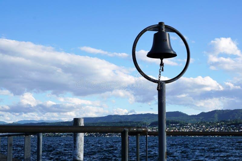 Lago Zurich Kuesnacht foto de archivo