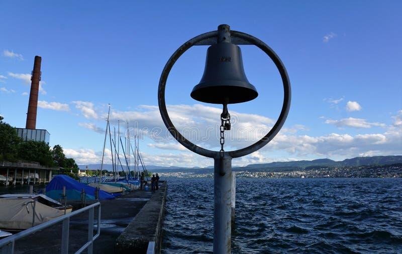 Lago Zurique Kuesnacht imagens de stock royalty free