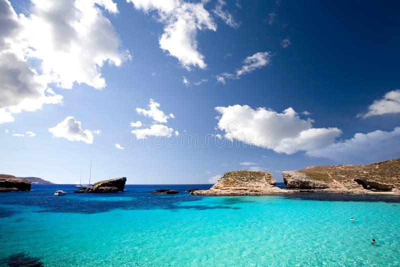 Lagoa azul fotografia de stock royalty free