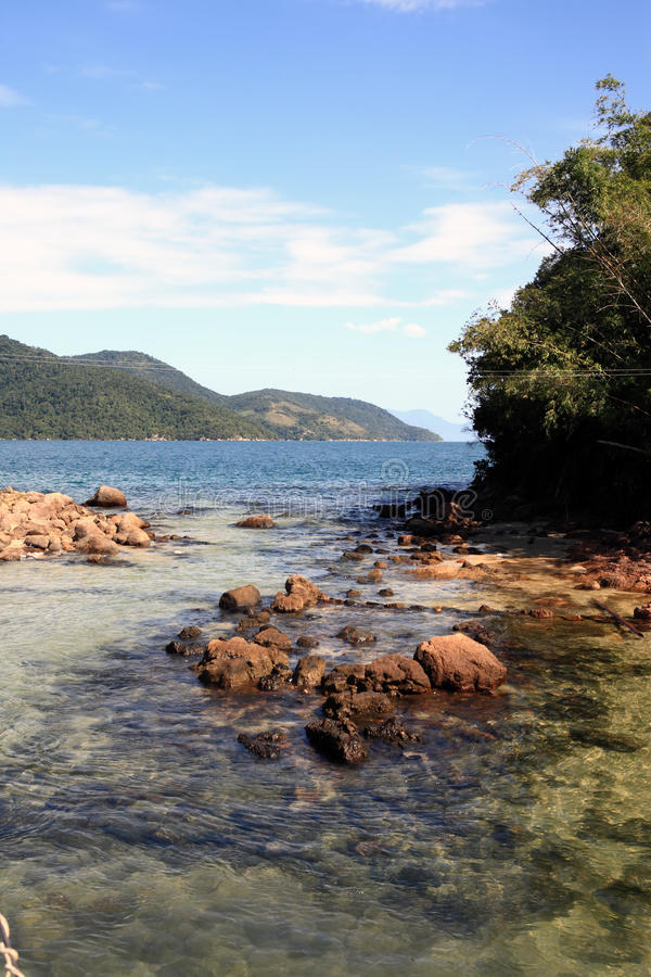 Free Lagoa Azul Ilha Grande Rio De Janeiro State Brazil Royalty Free Stock Images - 34961709