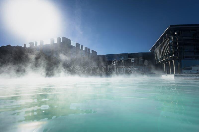 Lagoa azul Islândia fotos de stock royalty free