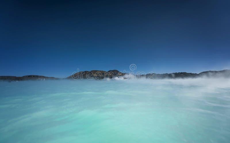 Lagoa azul Islândia fotografia de stock royalty free