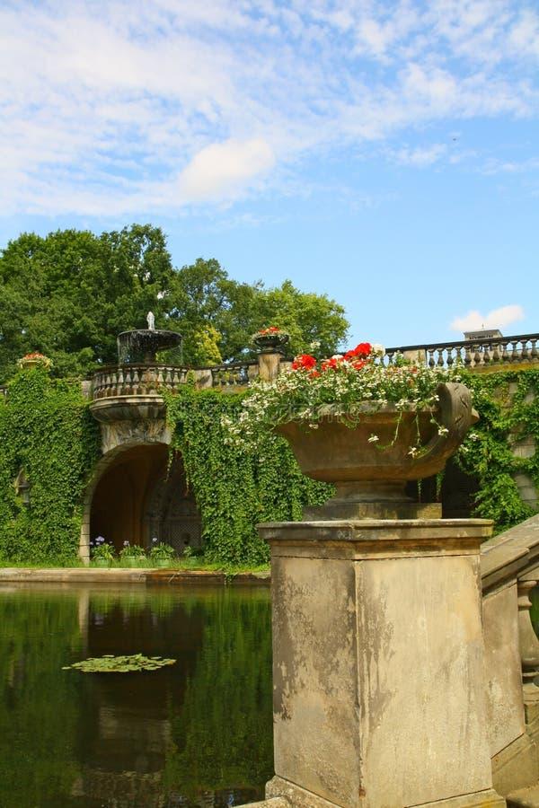 Lagoa bonita no sanssouci potsdam Berlim do parc imagem de stock royalty free