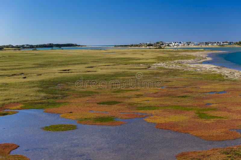Lagoa cénico colorida imagens de stock royalty free
