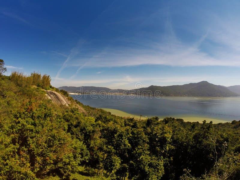 Lagoa DA Conceição en polis del ³ de Florianà - Santa Catarina - el Brasil imágenes de archivo libres de regalías