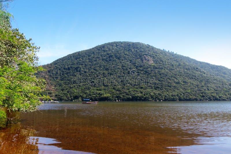 Lagoa da Conceição em Florianópolis - Santa Catarina - Brasil royalty free stock image