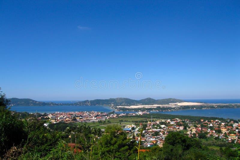 Lagoa DA Conceicao - Brazilië stock afbeeldingen