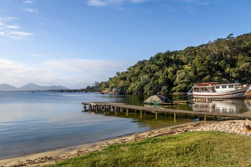 Lagoa DA Conceicao - Florianopolis, Santa Catarina, Brazilië stock foto