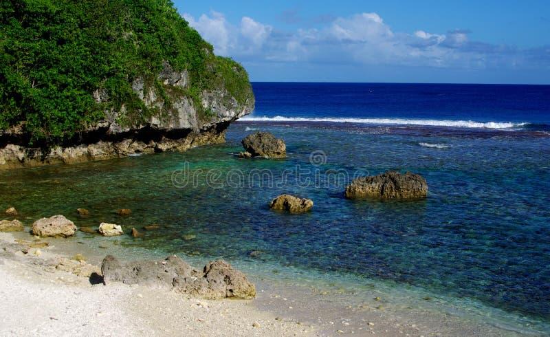 Lagoa de Avatele imagens de stock royalty free